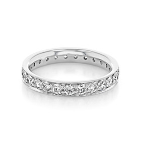 Pavé Wedding Band (CJ117)
