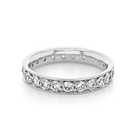 Pavé Wedding Band (CJ118)