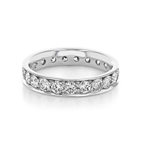 Pavé Wedding Band (CJ119)