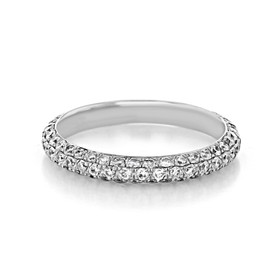 Pavé Wedding Band (LB256)