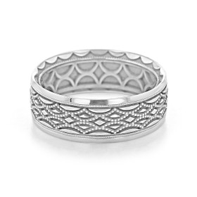 Tacori Sculpted Crescent Wedding Band (116-8W)