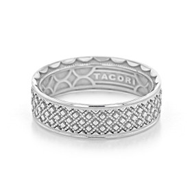 Tacori Sculpted Crescent Wedding Band (118-7W)