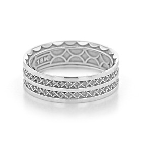Tacori Sculpted Crescent Wedding Band (121-7W)