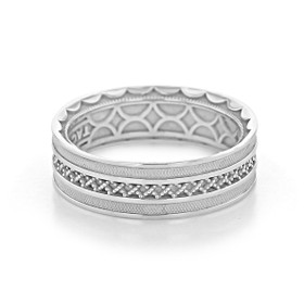 Tacori Sculpted Crescent Wedding Band (122-7)