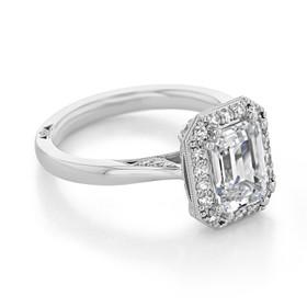 Tacori RoyalT Engagement Ring (HT2651EC85X65)
