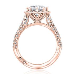 Tacori Petite Crescent Engagement Ring (HT2555RD75)