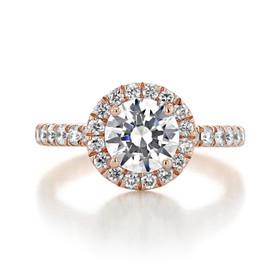 Gabriel NY Halo Engagement Ring (GC25R)