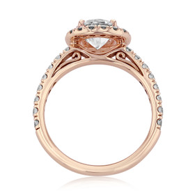 Gabriel NY Halo Engagement Ring (GC25R)