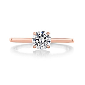 .50 ct Round Solitaire Rose Gold Engagement Ring (SO72)