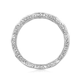 Pavé Wedding Band (LB124)