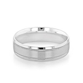 ArtCarved Men's Wedding Band (FG358)