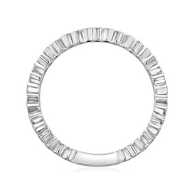 Bezel Set Wedding Band (LB77)