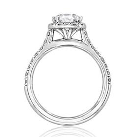 evertrue Halo Engagement Ring (EV14)