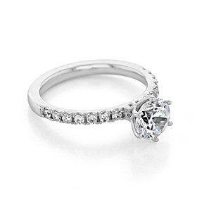 evertrue Micro-Prong Engagement Ring (EV10)