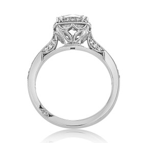 Tacori Dantela Moissanite Engagement Ring (2620RDMDP-M)