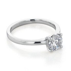 Solitaire Moissanite Engagement Ring (SO53-M)