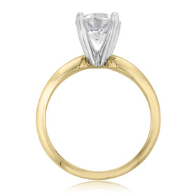 14K Yellow Gold Proposal Ring (SO38)