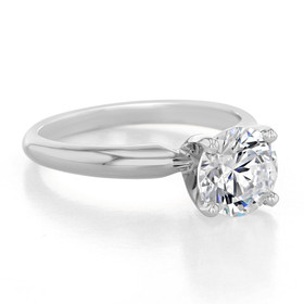 14K White Gold Proposal Ring (SO38)
