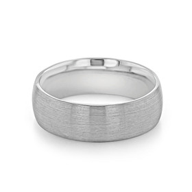 Signature Grey Gold Men's Wedding Band (WB497-B)