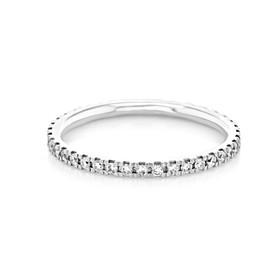 Micro-Prong Wedding Band (CJ102)