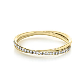 Braided Micro-Prong Wedding Band (ZB103-Y)