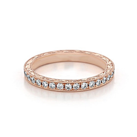 Pavé Wedding Band (CR68RB)