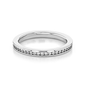 Channel Set Wedding Band (33-V50B4W65)