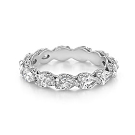Tacori RoyalT Wedding Band (HT2642W65)