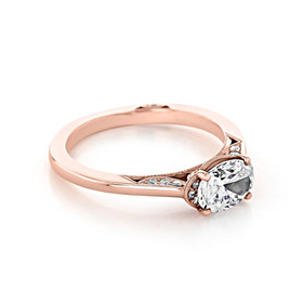 Simply Tacori Solitaire Engagement Ring (2654OV75X55)