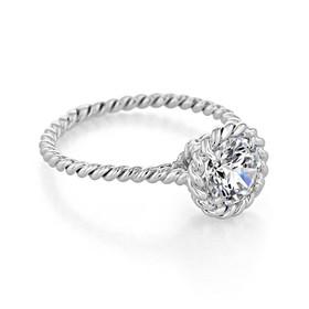 Danhov Solo Filo Braided Engagement Ring (SE106)