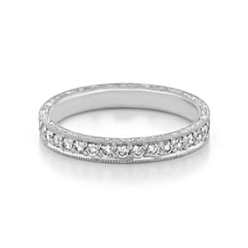 Pavé Wedding Band (LB36)