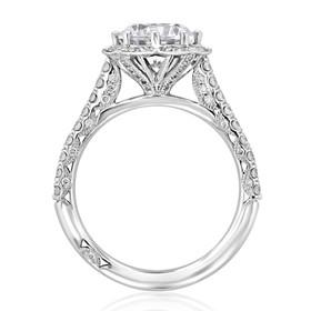 Tacori Petite Crescent Engagement Ring (HT2555RD8)
