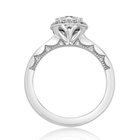 Tacori Coastal Crescent Engagement Ring (P101RD65)