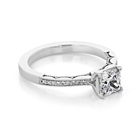 Tacori Coastal Crescent Engagement Ring (P102PR55)