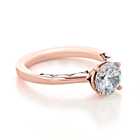 Tacori Coastal Crescent Engagement Ring (P100RD7)