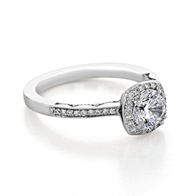 Tacori Coastal Crescent Engagement Ring (P103CU6)