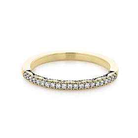 Tacori Coastal Crescent Wedding Band (P104BFY)