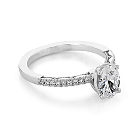 Tacori Coastal Crescent Engagement Ring (P104OV75X55F)