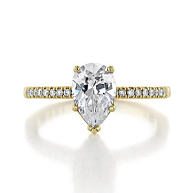 Tacori Coastal Crescent Engagement Ring (P104PS9X6)