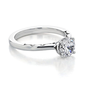 Tacori Coastal Crescent Engagement Ring (P100RD65)