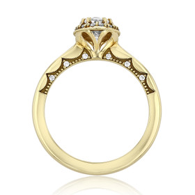 Tacori Coastal Crescent Engagement Ring (P101OV75X55)