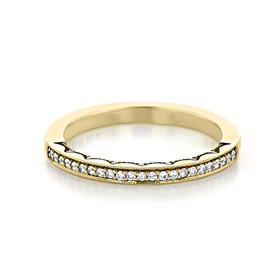 Tacori Coastal Crescent Wedding Band (P103BFY)