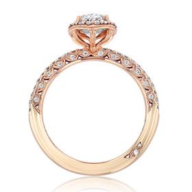Tacori Petite Crescent Engagement Ring (HT257215OV8X6)