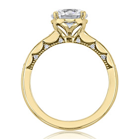 Tacori Coastal Crescent Engagement Ring (P1022RD8)