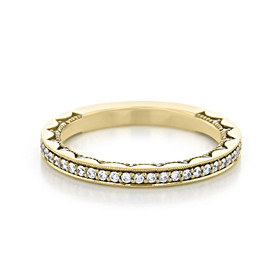 Tacori Coastal Crescent Wedding Band (P1032B34FY)