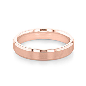 Signature Rose Gold Men's Wedding Band (11-8850R)