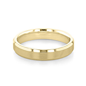 Signature Yellow Gold Men's Wedding Band (11-8850Y)
