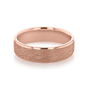 Signature Rose Gold Men's Wedding Band (11-8871R)