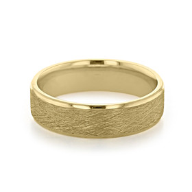 Signature Yellow Gold Men's Wedding Band (11-8871Y)