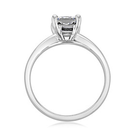 Radiant Cut Solitaire Engagement Ring (SO47)